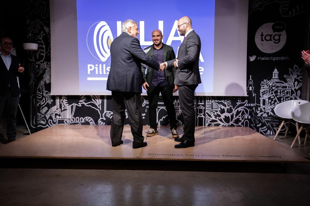 Premiazione 2° classificato - Ulia Pharma